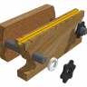 Pop-Pop's Dumbbell-Screw Moxon Vise
