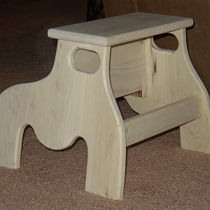 Step stool for niece