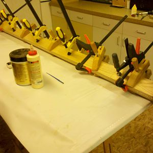 Workbench - glue ups for the top
