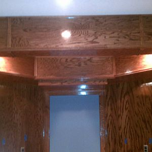 Ceiling Panels in Bar Area