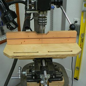 Drill Press X-Y Vise Table