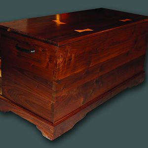 Black Walnut Blanket Chest