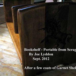 Book Shelf - Portable Bookshelf - for Tabletop