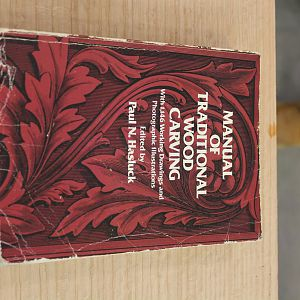 Manual of Traditional Wood Carving by Paul Hasluck