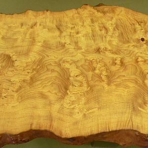 Olive Ash Burl Coffee Table