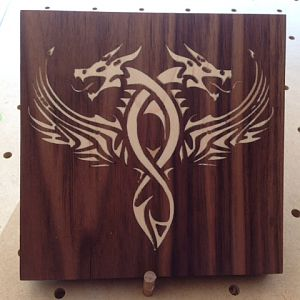 CNC Carved Inlay