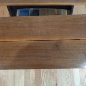 Walnut Seat top