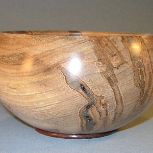 Maple Walnut Bowl 8in.