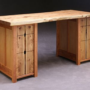 Elm and Cherry Desk