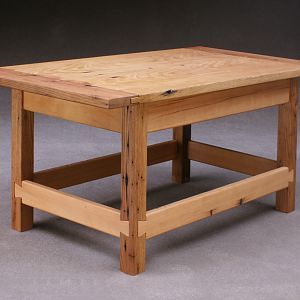American Chestnut and Hemlock Coffee Table