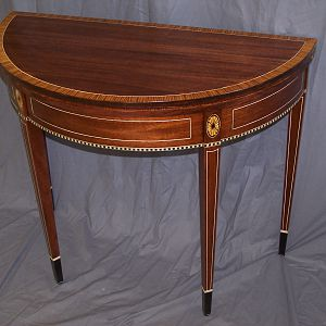 Federal Style Card Table