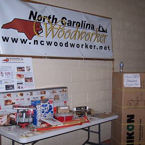 NC Woodworker Banner and 2010 Fall Drawing Prizes