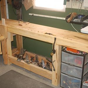 Roubo Style Maple WorkBench
