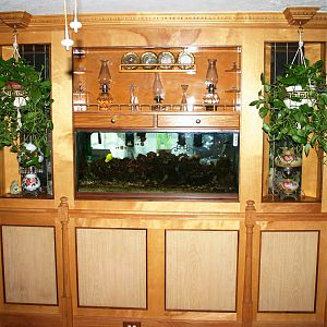 fish tank stand.