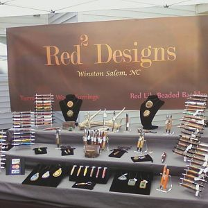 pen and jewelry display