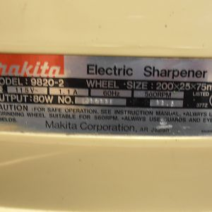 Makita Sharpener