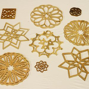 Cathy Skipper's scroll saw pieces