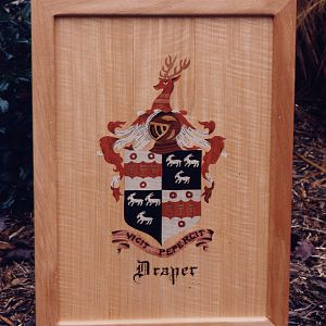 Marquetry Coat Of Arms