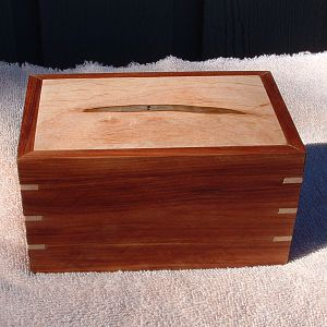 Cedar and Spalted Maple Box