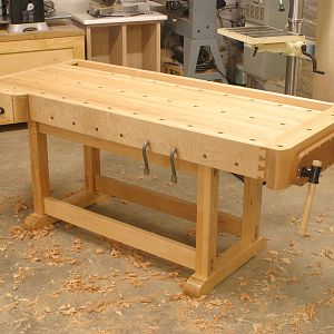 Monty's workbench