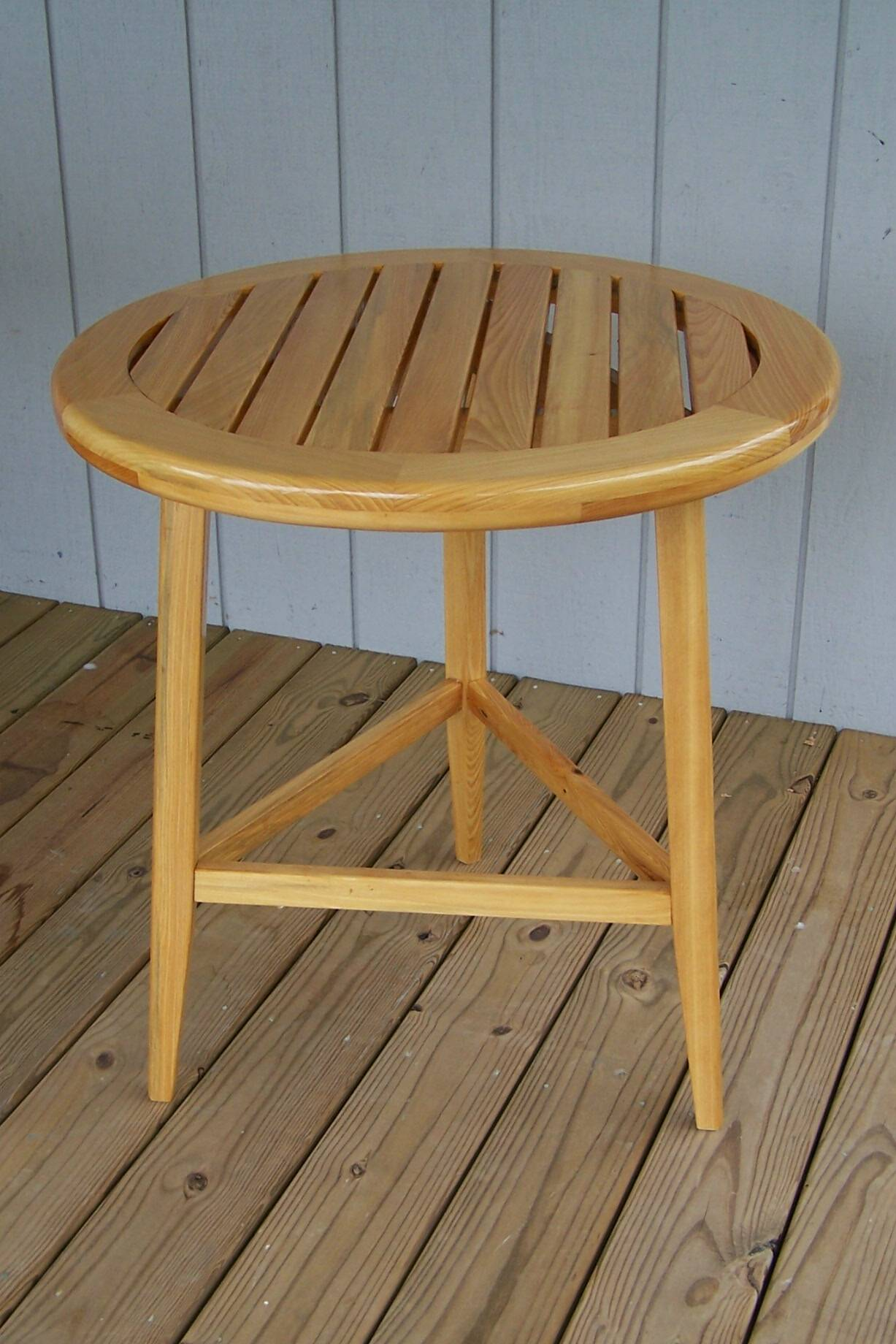 Cypress Deck Table