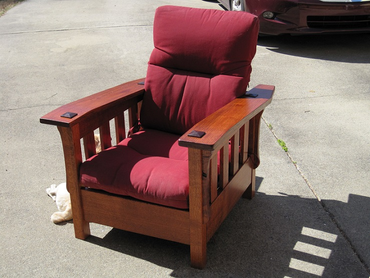 Latest Project - Mission style recliner