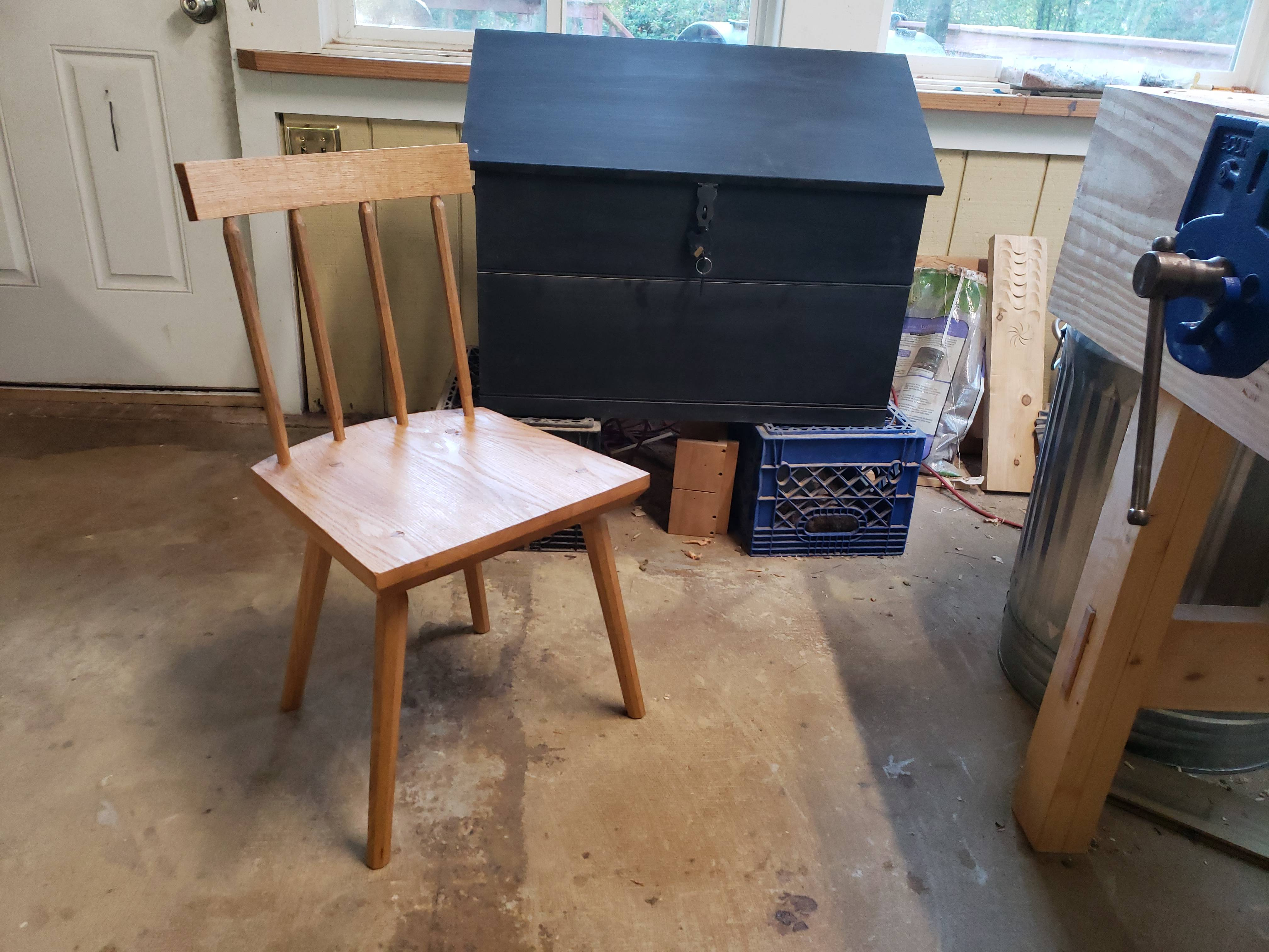 Staked Chair with Dutch Chest